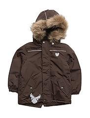 Jacket Vilmar - DARK BROWN