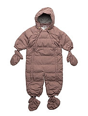 Down Baby Suit - DUSTY ROUGE
