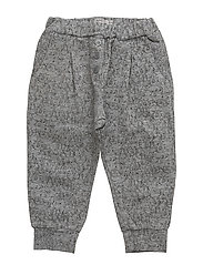 Trousers Gertrud - MELANGE GREY