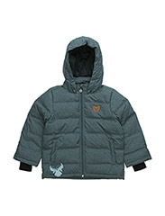 Down jacket Nik - MELANGE GREY
