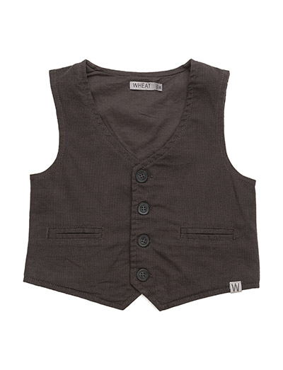 Wheat OB Boy Vest