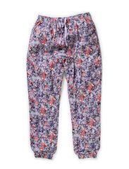 Trousers Flora - lavender
