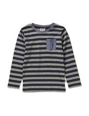 T-Shirt Mikkel LS - darkblue
