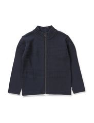 Sailor Knit Zipper - darkblue