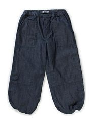 Trousers Front Pockets - blue