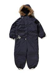 Snowsuit Fur - darkblue