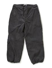 Trousers Front Pockets - steel