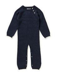 Sailor Knit Jumpsuit - melangeblue