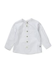 Shirt Pocket LS - white