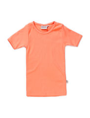 Basic Girl T-Shirt SS - peachcoral