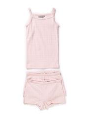 Girls Printed Underwear - babypink