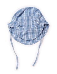 Baby Boy Sun Cap - fadeddenim