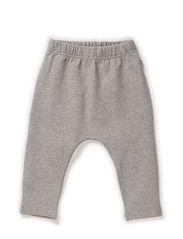 Baggy Sweat Pants - melangegrey