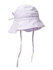 Baby Girl Sun Cap - palepurple
