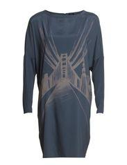 Sif C Dress - Dark Slate