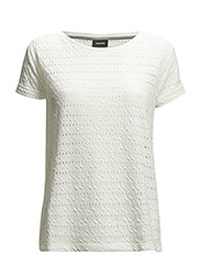 Jolie T-Shirt SS - SNOW WHITE