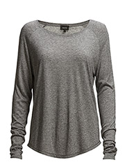 Bibbi T-Shirt LS - Frost Gray