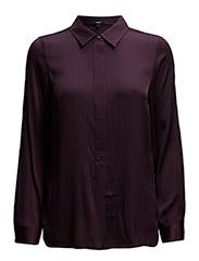 Vera Shirt LS - Plum Perfect