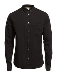 COLIN BUTTON DOWN TWILL - BLACK