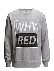 MURRY WHYRED PRINT - GREY MÉLANGE