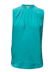FEDORA  SLEEVELESS - AQUA