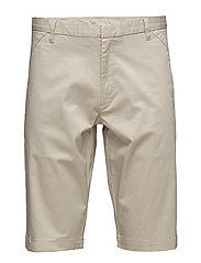 CRON SHORTS SATIN STRETCH - PEYOTE BEIGE