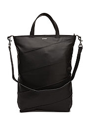 SWIRL SHOPPER - BLACK