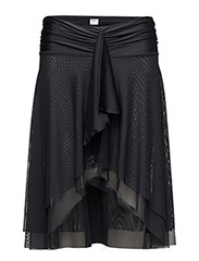 Mesh Skirt - BLACK