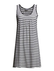 Beach Dress - Black & White