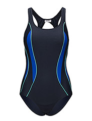 Swimsuit Alba Sport - NAVY/AQUA
