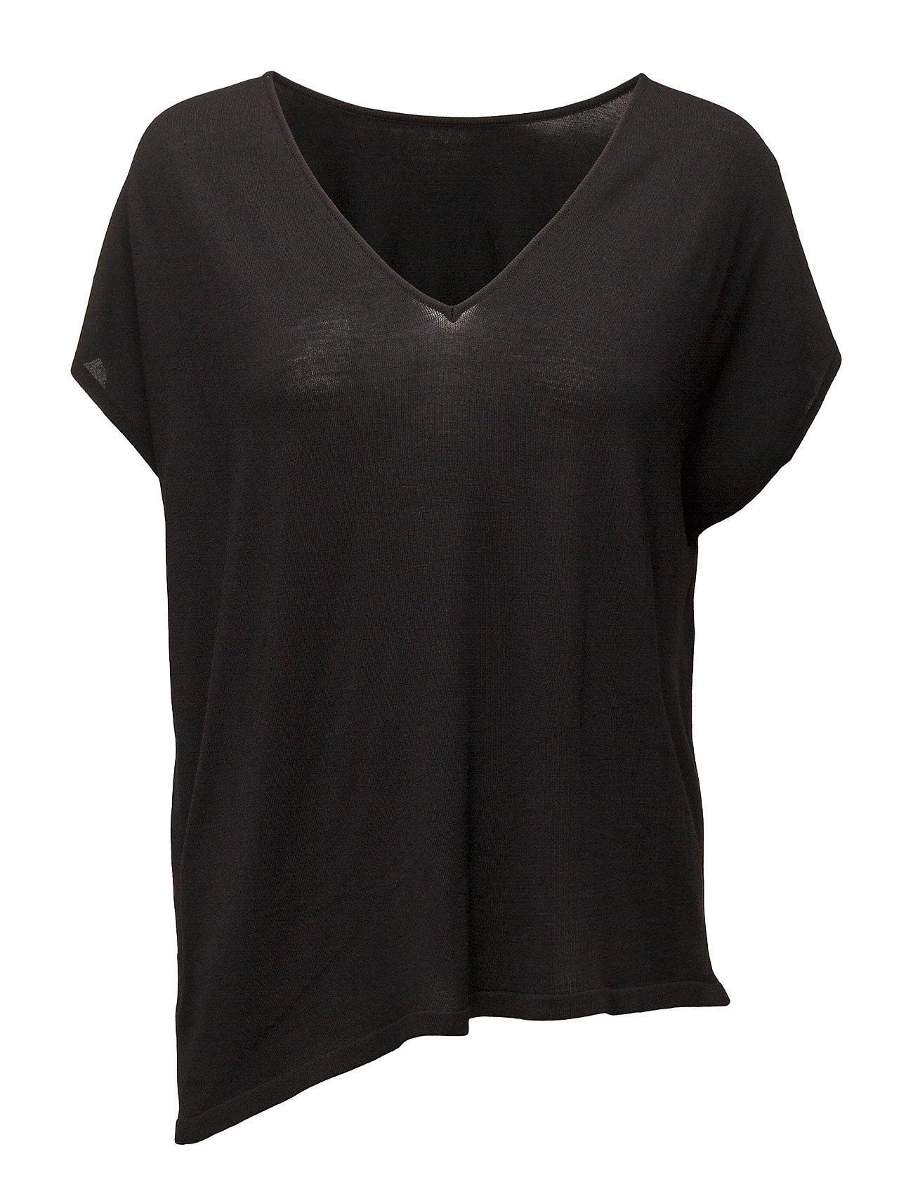Fine Merino Shirt Wolford Kortærmede til Damer i Sort