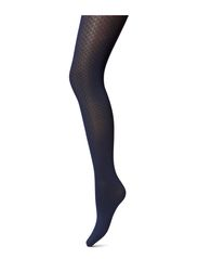 Brit Tights - cobalt/black