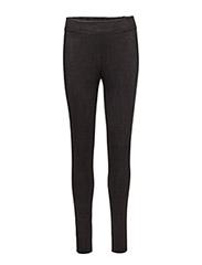 Velour Leggings - BLACK