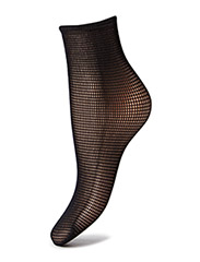 Grid Socks - black
