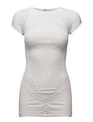 Net Lace Shirt - WHITE
