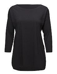 Pure Cut Pullover - BLACK