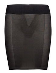 Sheer Touch Forming Skirt - BLACK