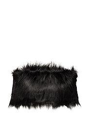 Vegan Fur Collar - BLACK