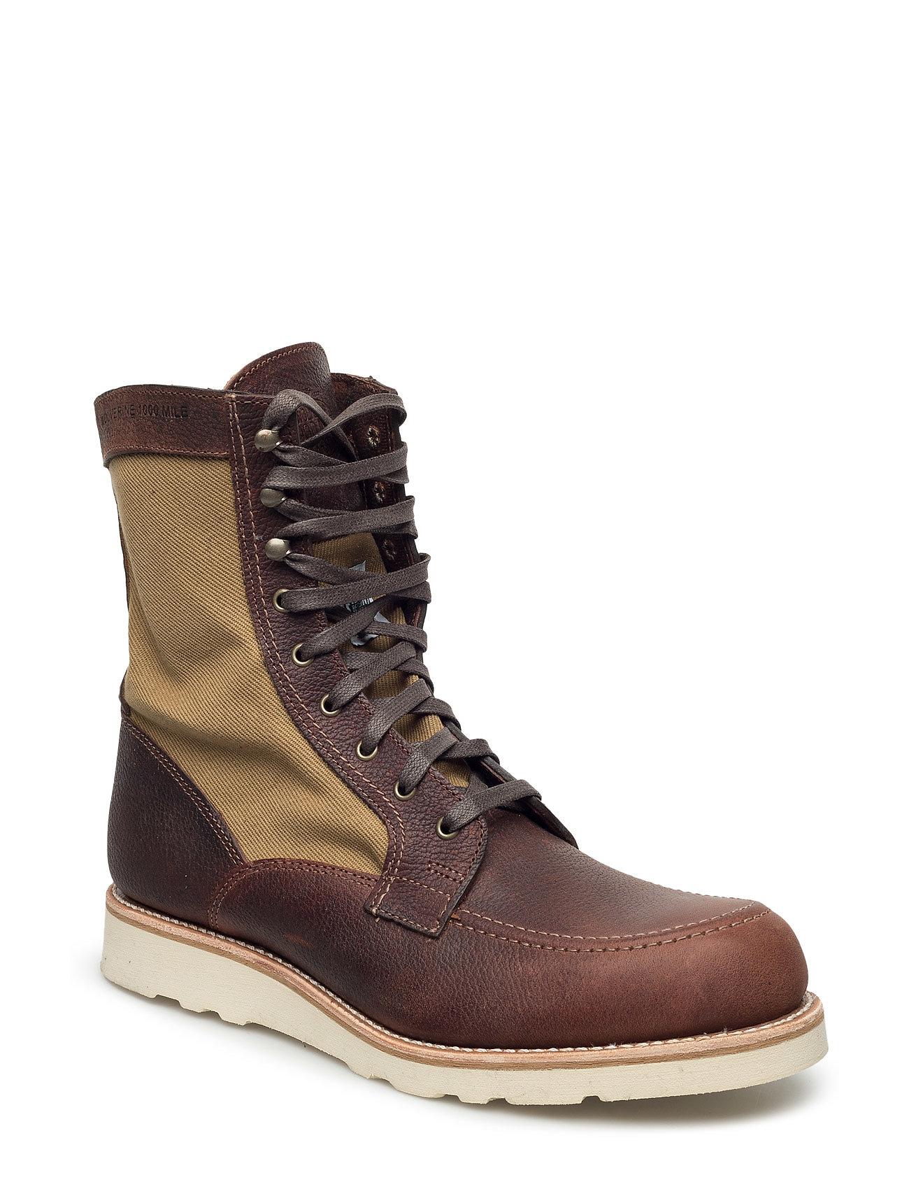 Rowan Brown Wolverine Støvler til Mænd i Brun
