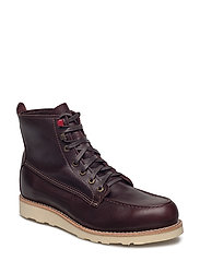 Louis Dark Brown Leather - DARK BROWN LEATHER