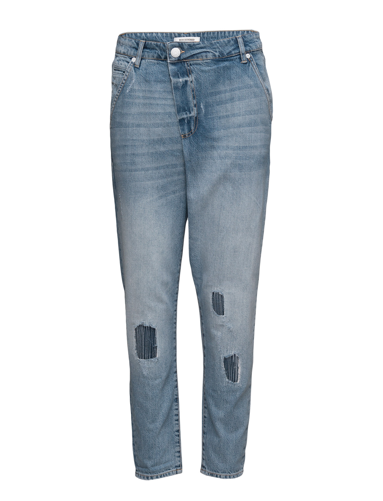 Lindy_light Blue Won Hundred Jeans til Damer i Lyseblå