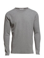 WRIGHT_RIB_DETAIL - Grey Melange