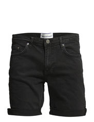 Dean_A_short washed black - Washed Black