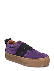 RANDY_ELASTIC - SHOE COLOUR PURPLE