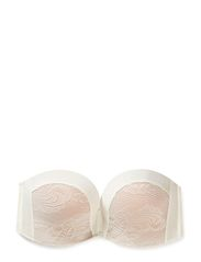 Ultimate Strapless Lace - Ivory