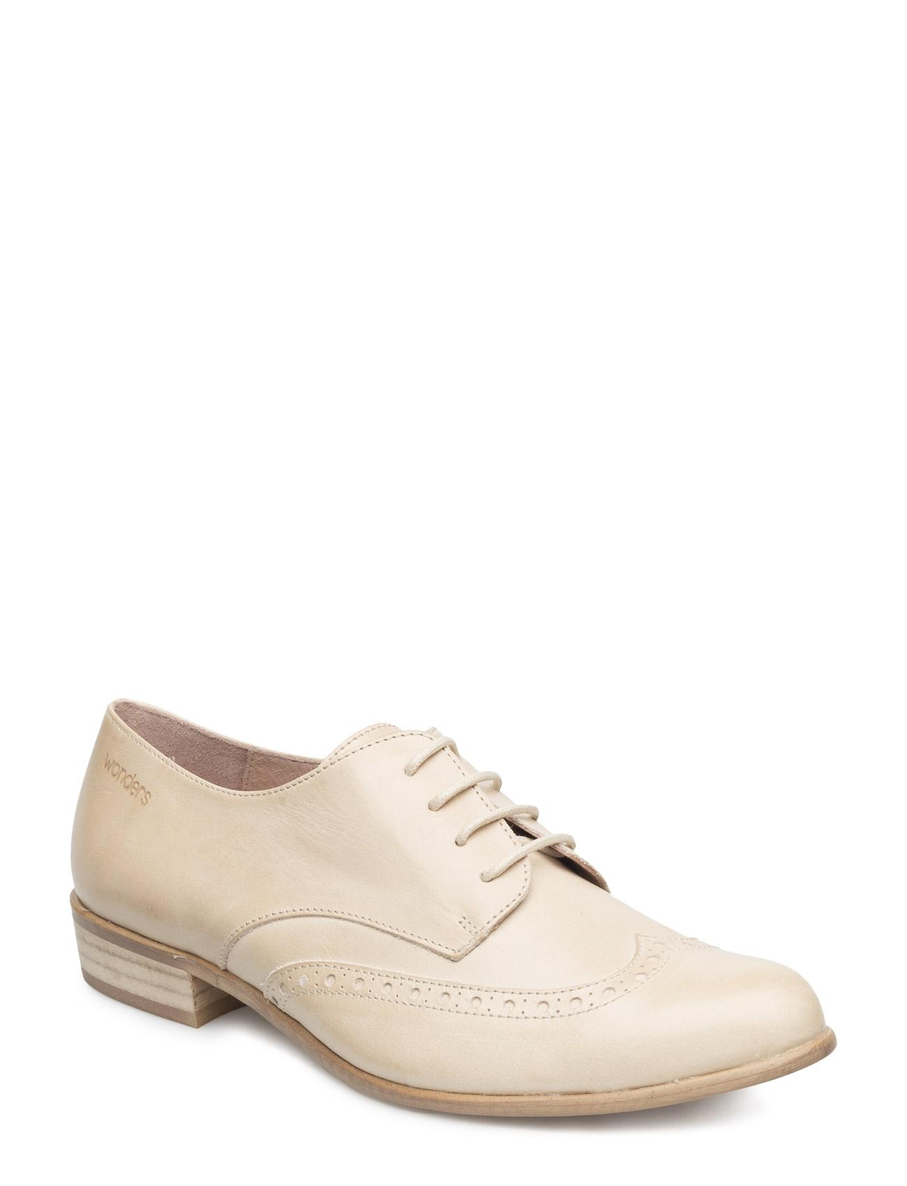 B-6021 Wonders Flade sko til Damer i Naturlig