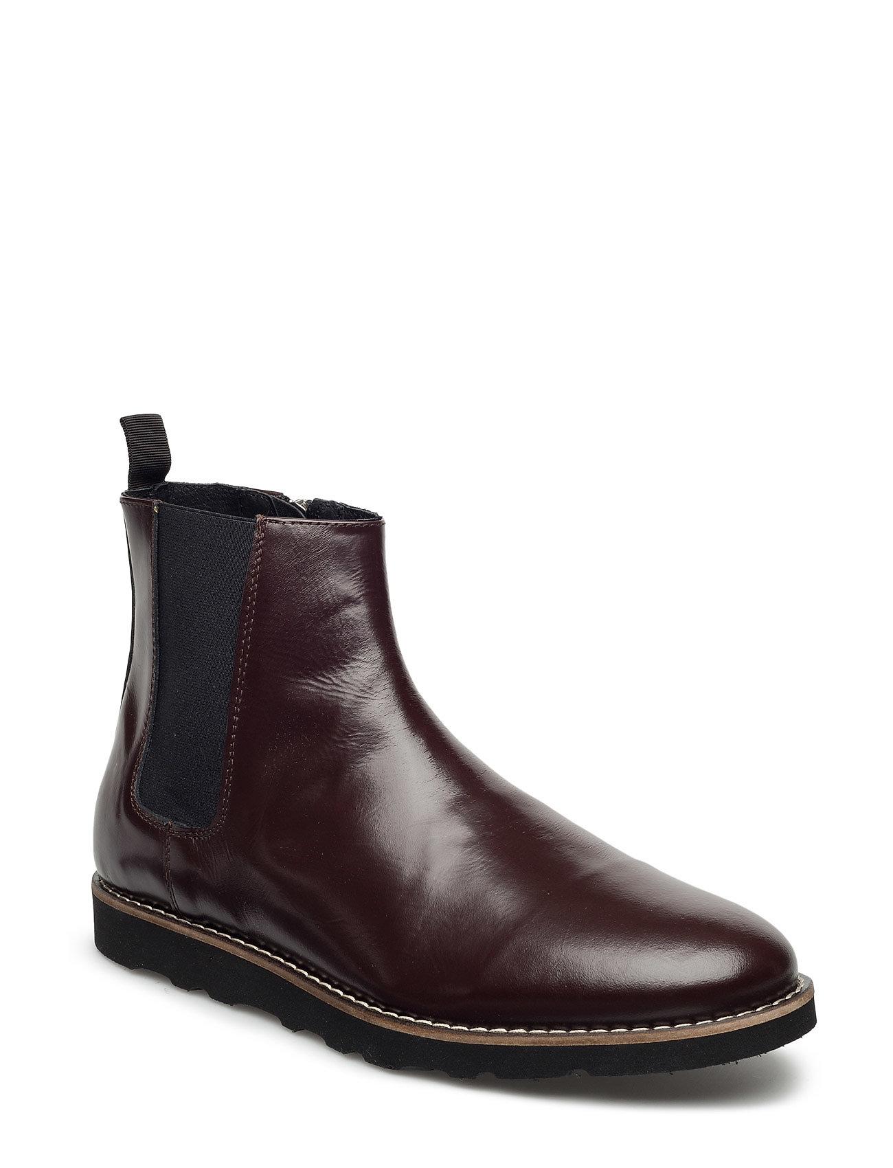 Hank Boot Wood Wood Støvler til Mænd i Bourgogne