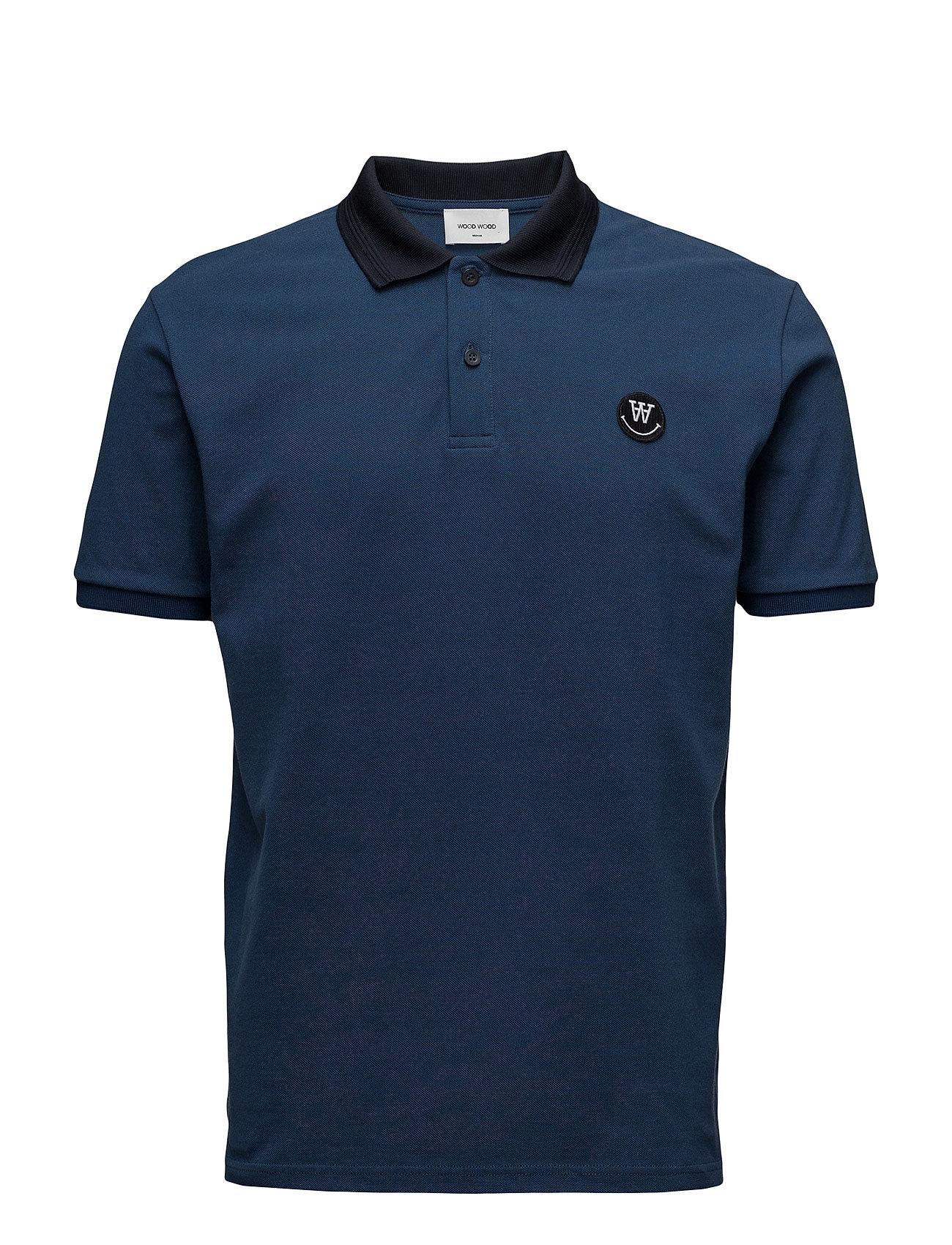 Brian Polo Wood Wood Kortærmede polo t-shirts til Herrer i