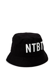 Bucket hat logo - BLACKNTBT