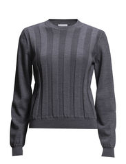 Viggie sweater - GREY MELAN